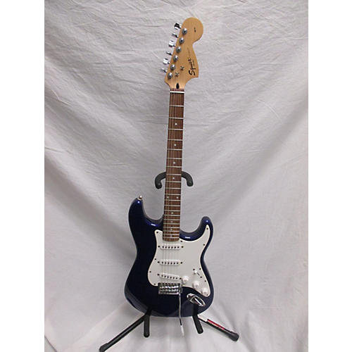 used squier affinity stratocaster solid body electric guitar blue guitar center. Black Bedroom Furniture Sets. Home Design Ideas