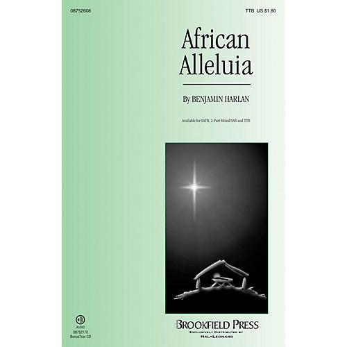 Brookfield African Alleluia TTB composed by Benjamin Harlan