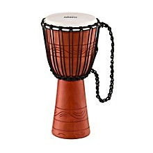Nino African Style Rope Tuned Djembe Small Level 1 Water Series 10 in.