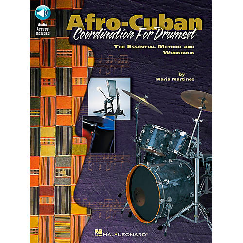 Hal Leonard Afro-Cuban Coordination for Drumset Book with CD