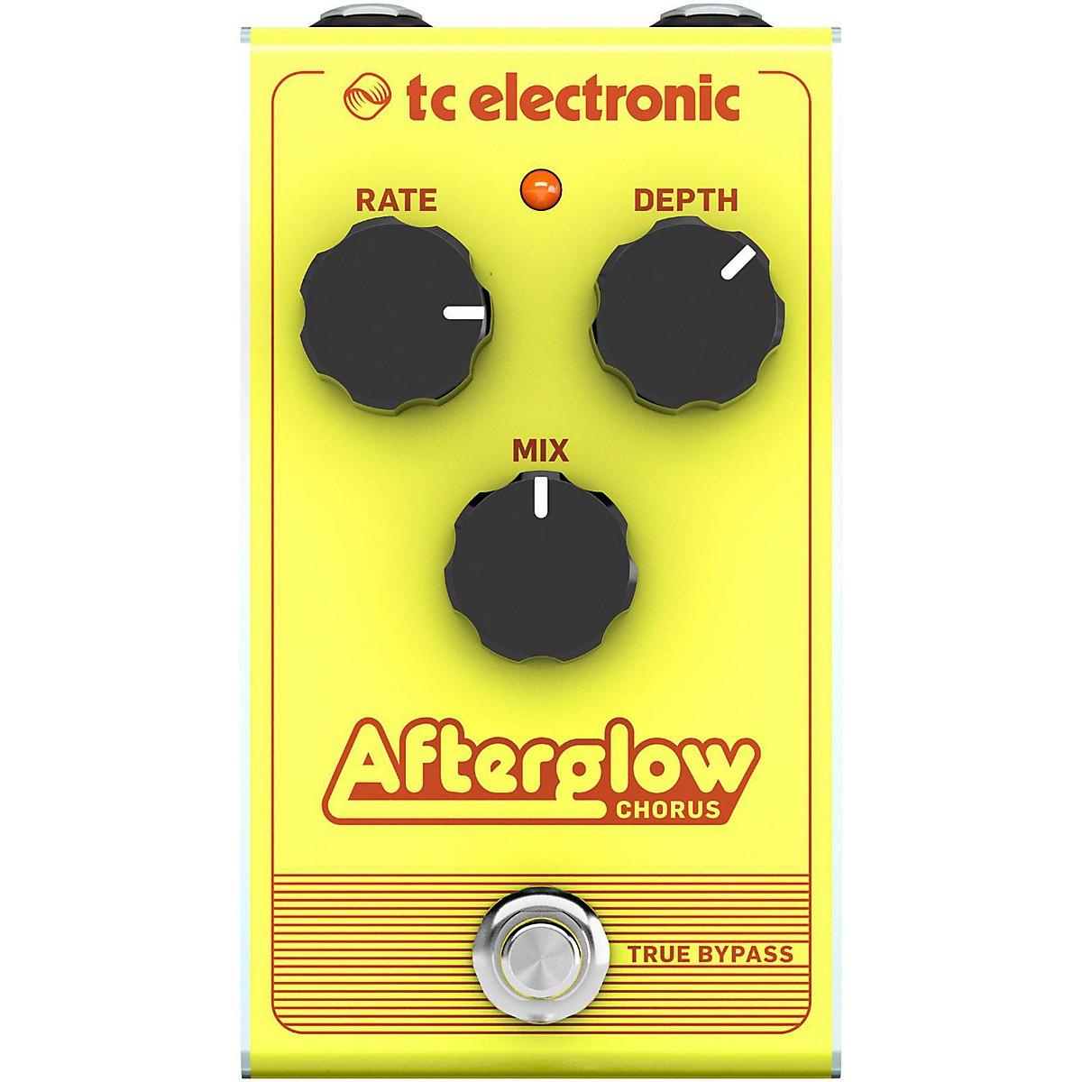 TC Electronic Afterglow Chorus Effect Pedal
