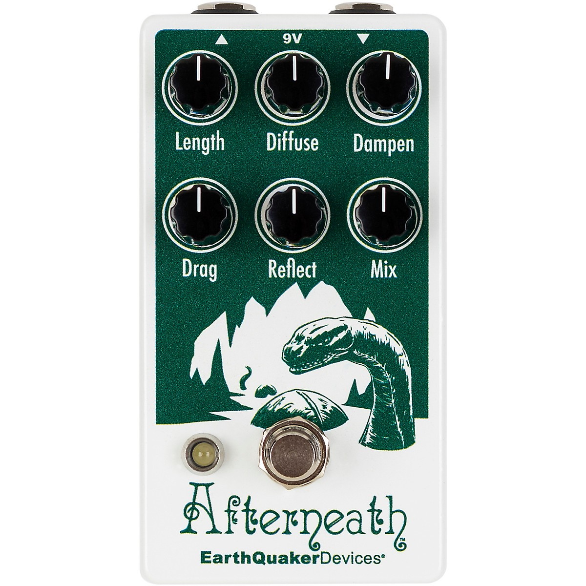 Earthquaker Devices Afterneath V2 Special Edition Otherworldly Reverberation Machine Effects Pedal