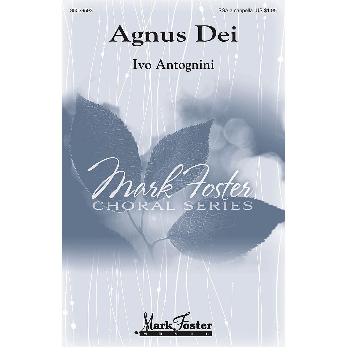 Mark Foster Agnus Dei SSA A Cappella composed by Ivo Antognini