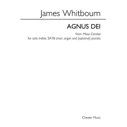Music Sales Agnus Dei from Missa Carolae SATB Composed by James Whitbourn