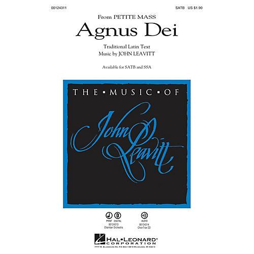 Hal Leonard Agnus Dei (from Petite Mass) CHOIRTRAX CD Composed by John Leavitt