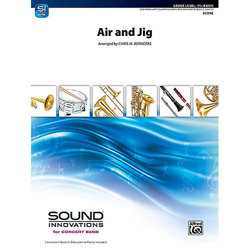 Alfred Air and Jig Concert Band Grade 1.5 Set