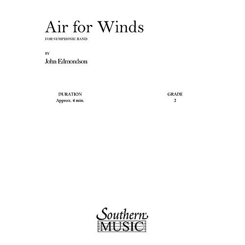 Southern Air for Winds (Band/Concert Band Music) Concert Band Level 2 Composed by John Edmondson