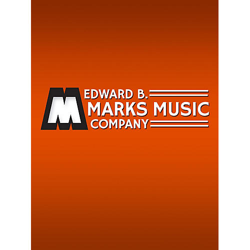 Edward B. Marks Music Company Air on the G String (Air from Suite in D) Organ Solo Series by Bach J S