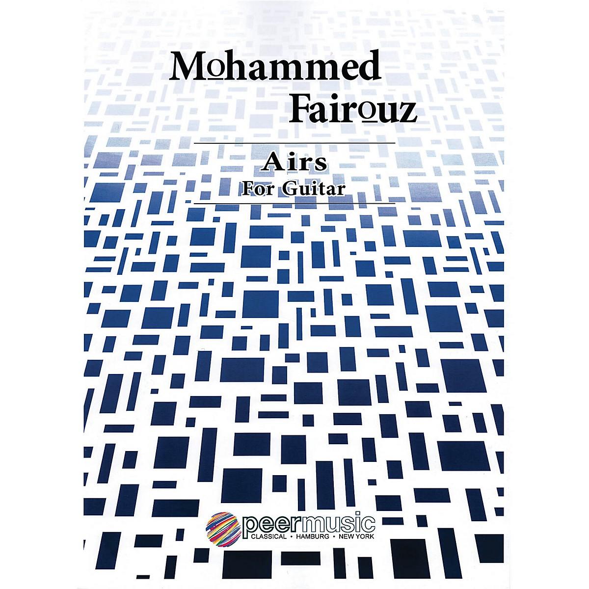 Peer Music Airs (Guitar) Peermusic Classical Series Composed by Mohammed Fairouz