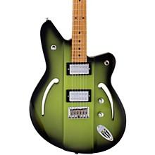 Airsonic RA Roasted Maple Fingerboard Electric Guitar Avocado Burst