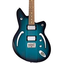 Airsonic RA Roasted Maple Fingerboard Electric Guitar Deep Sea Blue Burst