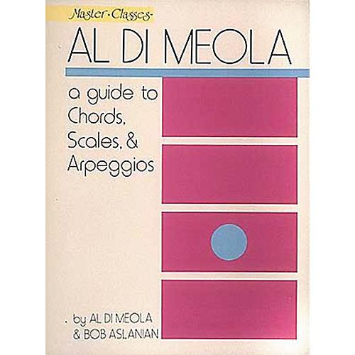 Hal Leonard Al Di Meola - A Guide To Chords, Scales and Arpeggios