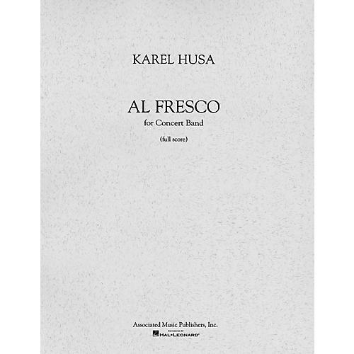Associated Al Fresco (Full Score) Concert Band Composed by Karel Husa