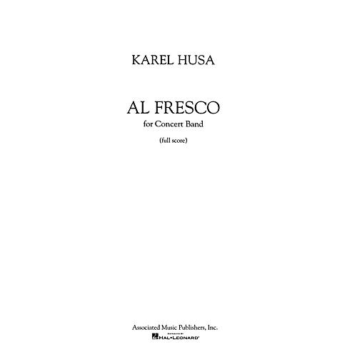 Associated Al Fresco (Score and Parts) Concert Band Level 4-5 Composed by Karel Husa