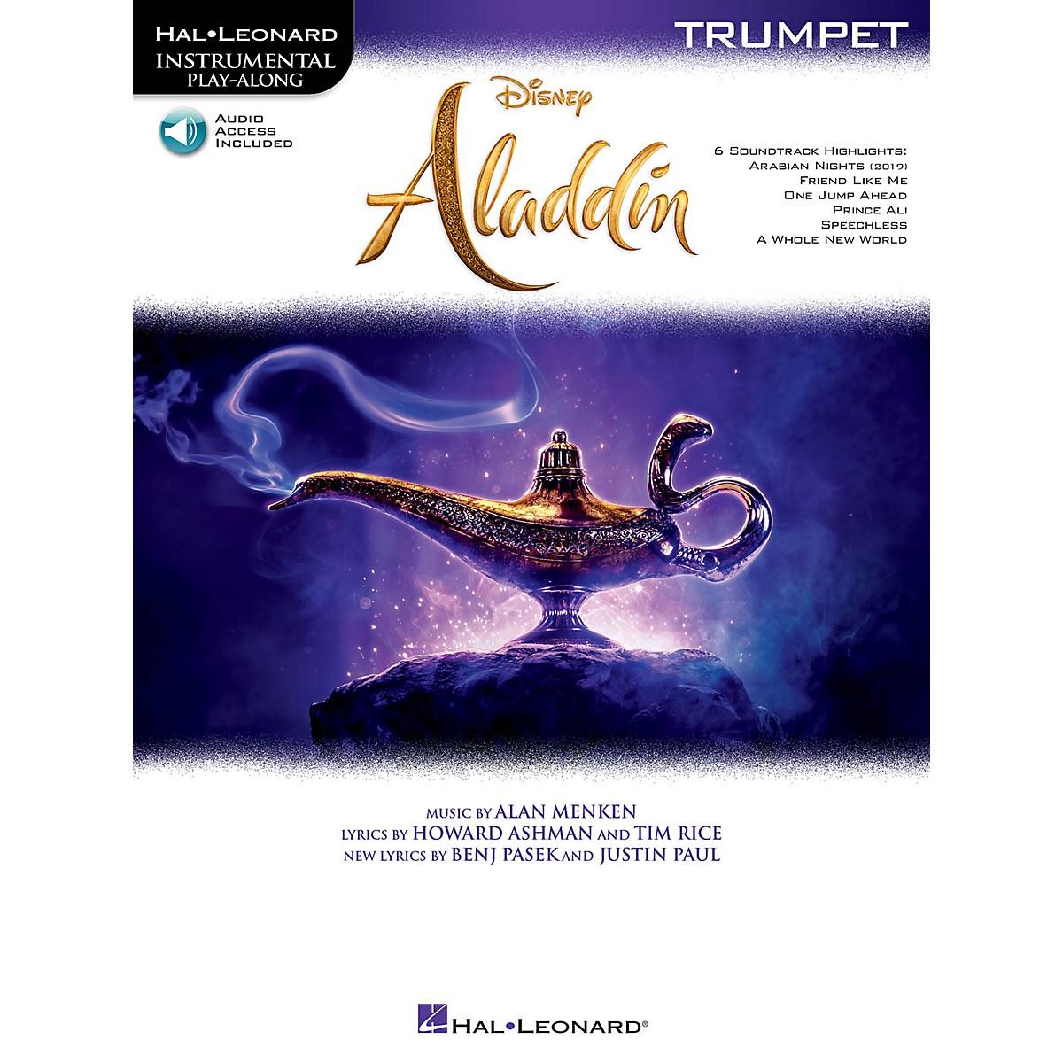 Hal Leonard Aladdin for Trumpet Instrumental Play-Along Book/Audio Online