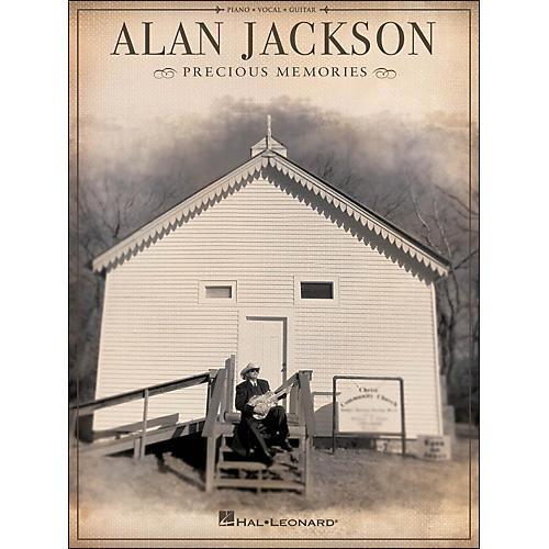 Hal Leonard Alan Jackson Precious Memories arranged for piano, vocal, and guitar (P/V/G)