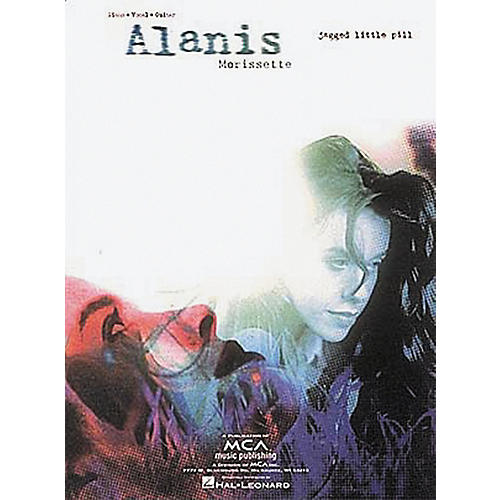 Hal Leonard Alanis Morissette Jagged Little Pill Piano, Vocal, Guitar Songbook