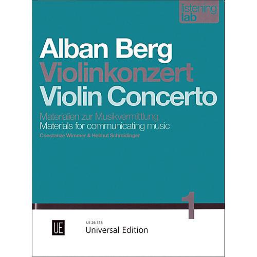 Carl Fischer Alban Berg: Violin Concerto Study