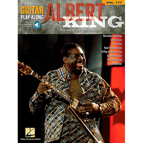 Hal Leonard Albert King - Guitar Play-Along Volume 177 Book/CD