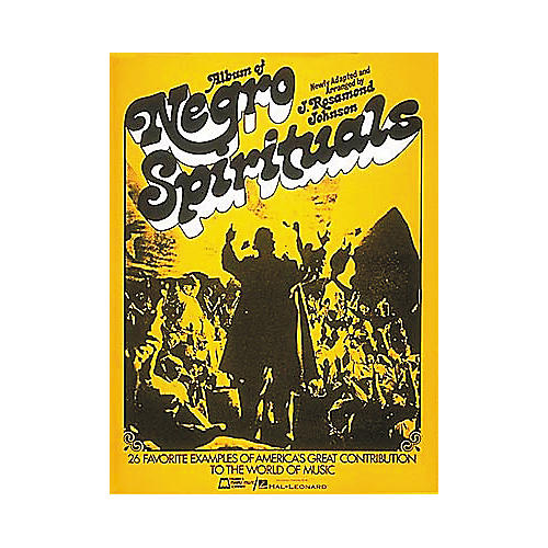 Edward B. Marks Music Company Album Of Negro Spirituals Piano/Vocal/Guitar Songbook