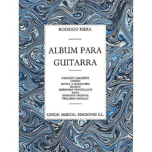 Union Musicale Album Para Guitarra Music Sales America Series