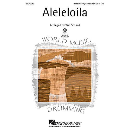 Hal Leonard Aleleloila ShowTrax CD Arranged by Will Schmid