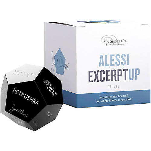 S.E. SHIRES Alessi ExcerptUP Practice Tool for Trumpet