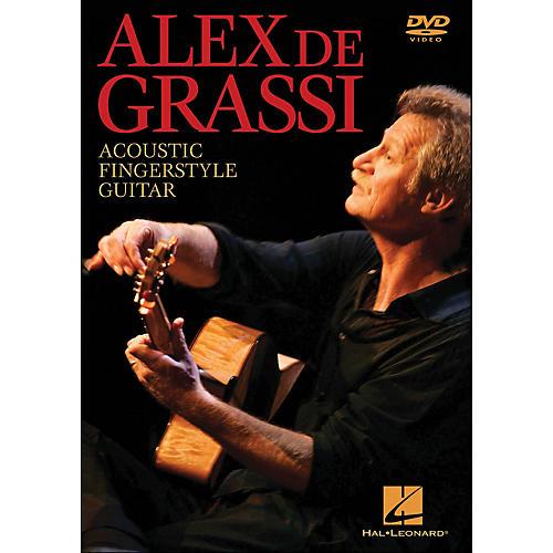 Hal Leonard Alex De Grassi - Acoustic Fingerstyle Guitar Instructional (DVD)