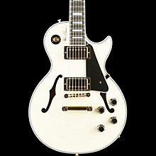 Gibson Custom Alex Lifeson Signature ES-Les Paul Semi-Hollow Body Electric Guitar Antique White
