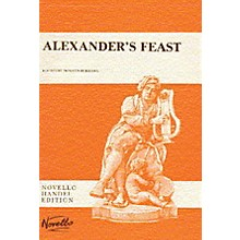 Novello Alexander's Feast SATB Score Composed by Georg Friedrich Händel