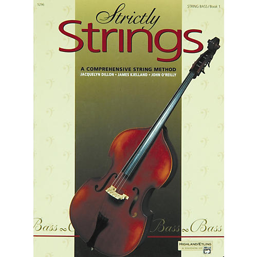 Alfred Alfred Publishing SSDB1 Bass Strictly Strings Boo Bass
