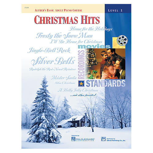 Alfred Alfred's Basic Adult Piano Course Christmas Hits Level 1