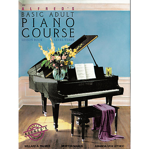 Alfred Alfred's Basic Adult Piano Course Lesson Book 3