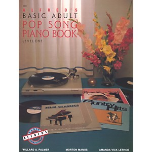 Alfred Alfreds Basic Adult Piano Course Pop Song Book 1 by Alfred
