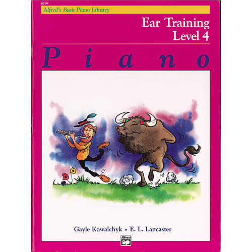 Alfred Alfred's Basic Piano Course Ear Training Book 4