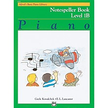 Alfred Alfred's Basic Piano Course Notespeller Book 1B