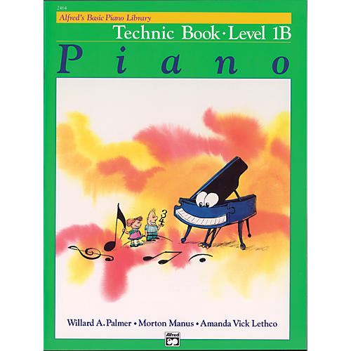 Alfred Alfred's Basic Piano Course Technic Book 1B