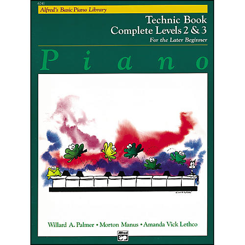 Alfred Alfred's Basic Piano Course Technique Book Complete 2 & 3