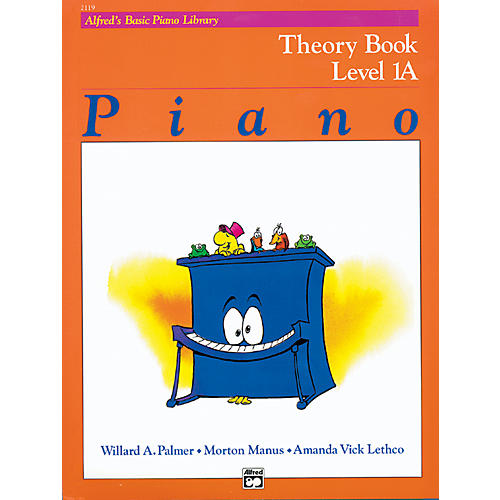 Alfred Alfred's Basic Piano Course Theory Book 1A