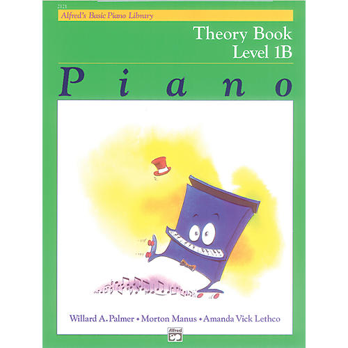 Alfred Alfred's Basic Piano Course Theory Book 1B