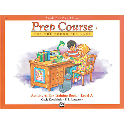 Alfred Alfred's Basic Piano Prep Course Activity & Ear Training Book A