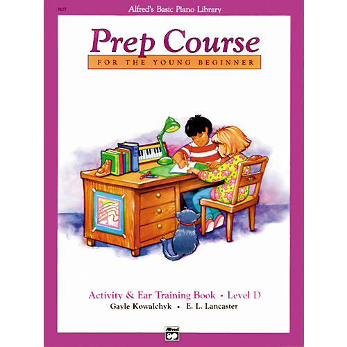 Alfred Alfred's Basic Piano Prep Course Activity & Ear Training Book D