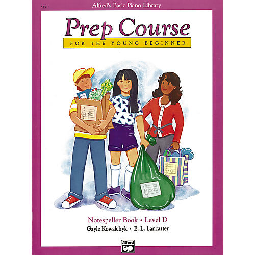 Alfred Alfred's Basic Piano Prep Course Notespeller Book D