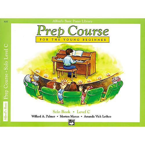 Alfred Alfred's Basic Piano Prep Course Solo Book C