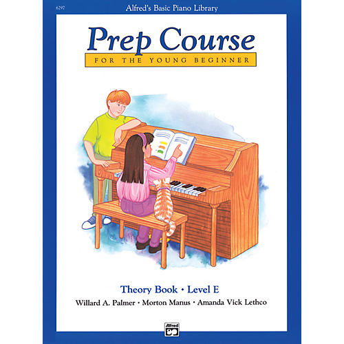 Alfred Alfred's Basic Piano Prep Course Theory Book E