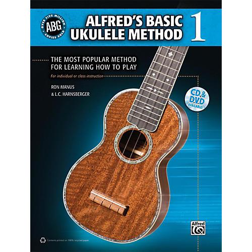 Alfred Alfred's Basic Ukulele Method Book 1