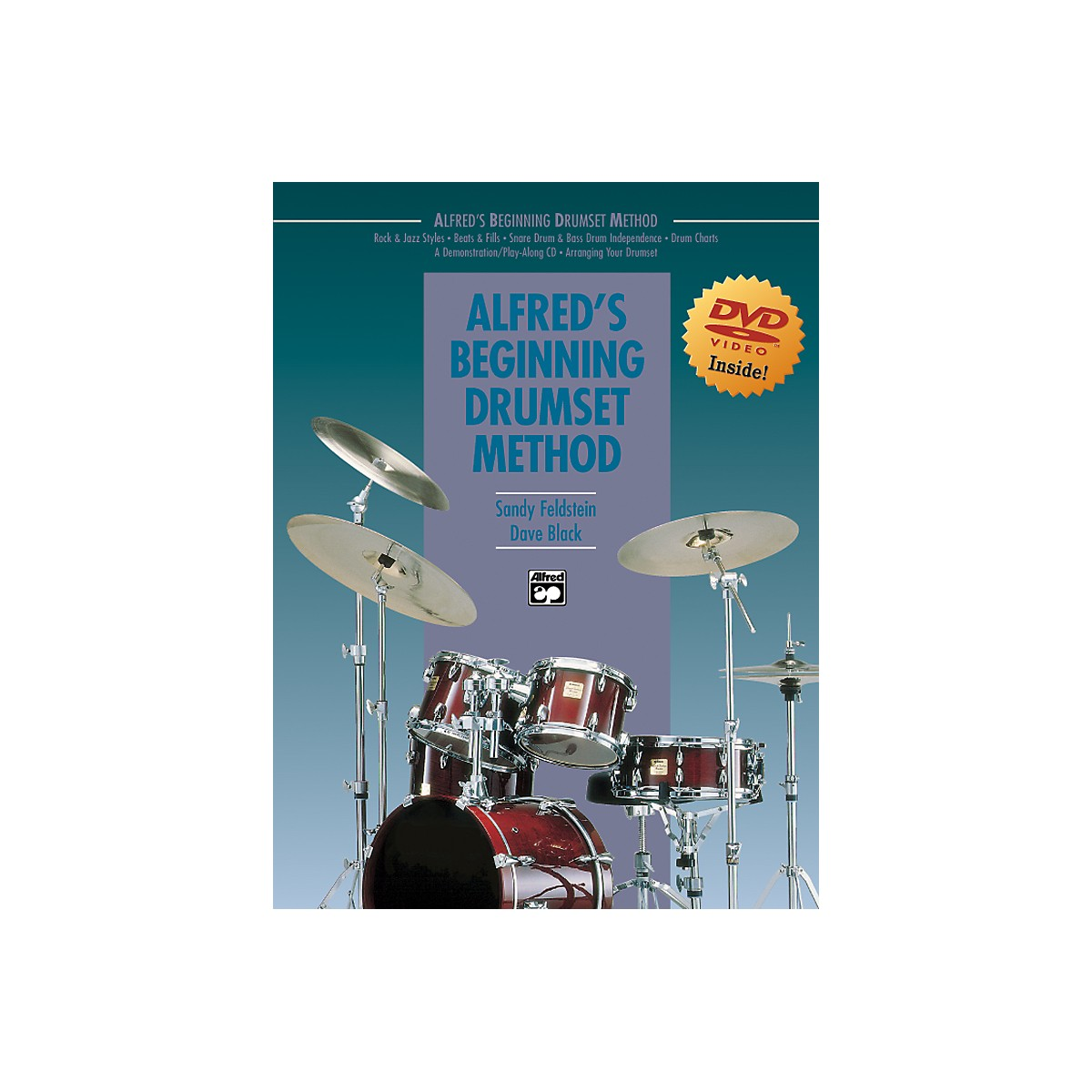 Alfred Alfred's Beginning Drumset Method Book & DVD in Sleeve