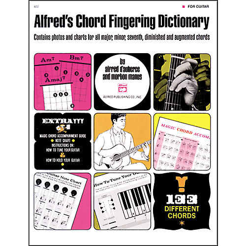 Alfred Alfred's Chord Fingering Dictionary
