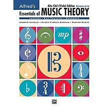 Alfred Alfred's Essentials of Music Theory: Complete Alto Clef, Viola Edition Comb Bound Book