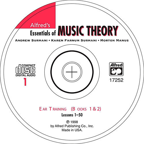 Alfred Alfred's Essentials of Music Theory Ear Training CD 1, Books 1 & 2